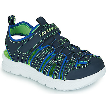 Shoes Boy Outdoor sandals Skechers C-FLEX SANDAL 2.0 Marine / Green