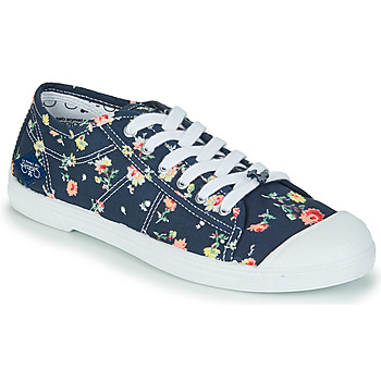 Shoes Women Low top trainers Le Temps des Cerises BASIC 02 Blue / Pink