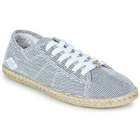 Shoes Women Low top trainers Le Temps des Cerises BEACH Blue / White