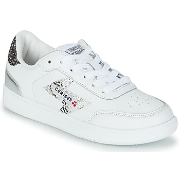 Shoes Women Low top trainers Le Temps des Cerises FLASH White / Silver