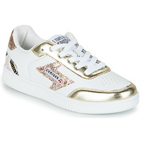 Shoes Women Low top trainers Le Temps des Cerises FLASH White / Gold