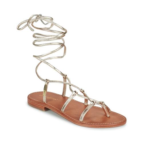 Shoes Women Sandals Les Tropéziennes par M Belarbi HELLEN Gold