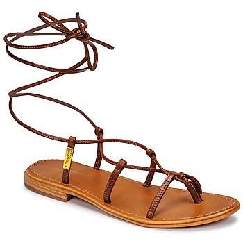 Shoes Women Sandals Les Tropéziennes par M Belarbi HELLEN Brown