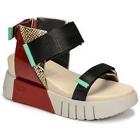 Shoes Women Sandals United nude DELTA RUN Red / Black