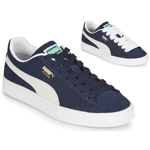 Shoes Low top trainers Puma SUEDE Blue