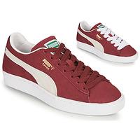 Shoes Low top trainers Puma SUEDE Bordeaux