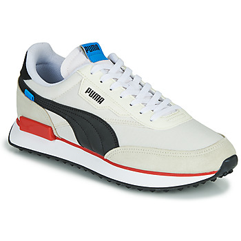 Shoes Men Low top trainers Puma FUTURE RIDER PLAY ON White / Black / Red