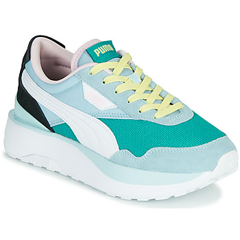 Shoes Women Low top trainers Puma CRUISE RIDER SILK Blue