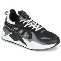 Shoes Men Low top trainers Puma RSX MIX Black / Grey