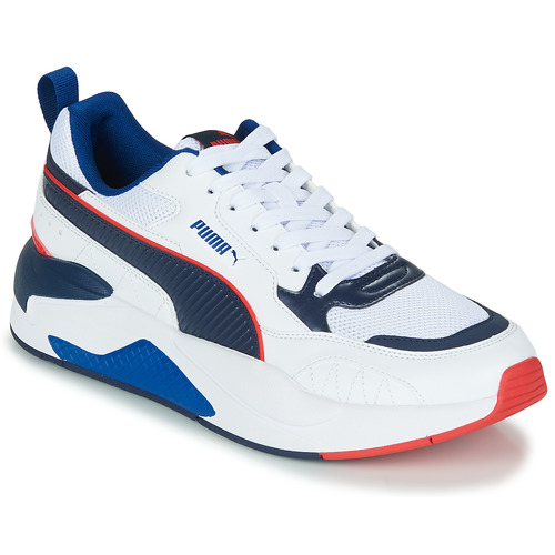 Shoes Men Low top trainers Puma XRAY2 White / Black / Blue