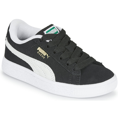 Shoes Children Low top trainers Puma SUEDE PS Black