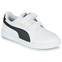Shoes Children Low top trainers Puma SHUFFLE PS White / Black
