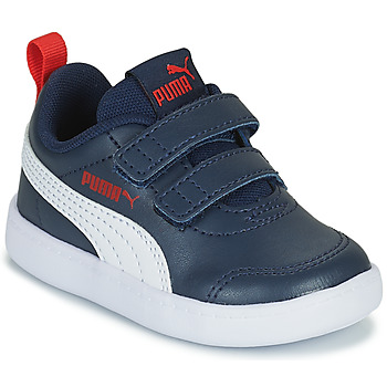 Shoes Children Low top trainers Puma COURTFLEX INF Black
