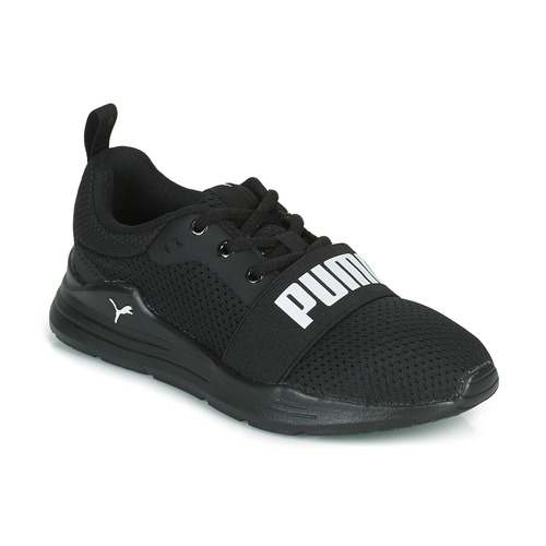 Shoes Children Low top trainers Puma WIRED PS Black