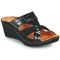 Shoes Women Mules Mam'Zelle DINAMO Black