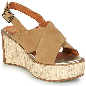 Shoes Women Sandals Mam'Zelle MEDINA Beige