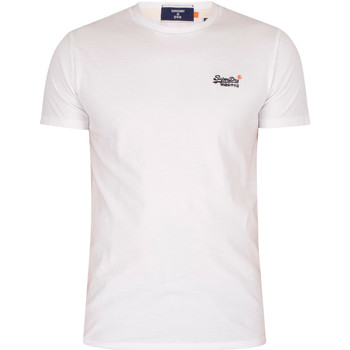 Clothing Men T-shirts & Polo shirts Superdry Vintage EMB T-Shirt white