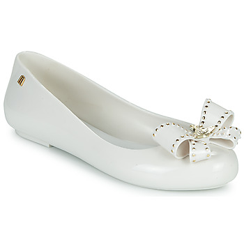 Shoes Women Flat shoes Melissa VIVIENNE WESTWOOD ANGLOMANIA - SWEET LOVE II White