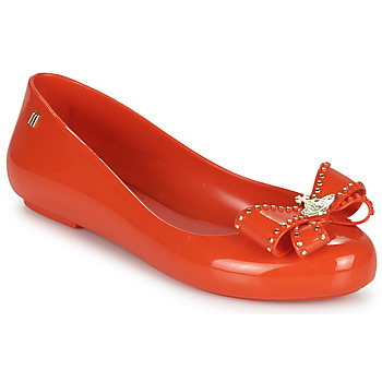 Shoes Women Flat shoes Melissa VIVIENNE WESTWOOD ANGLOMANIA - SWEET LOVE II Red