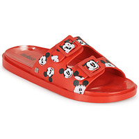Shoes Women Mules Melissa WIDE - MICKEY & FRIENDS AD Red