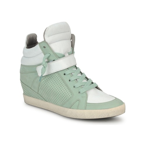 Shoes Women Hi top trainers Kennel + Schmenger SOHO BRIGHT Green / White