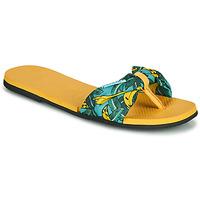 Shoes Women Flip flops Havaianas YOU SAINT TROPEZ Yellow / Gold
