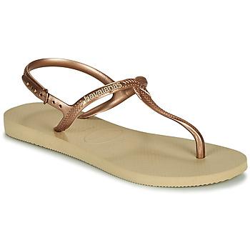 Shoes Women Sandals Havaianas TWIST Beige