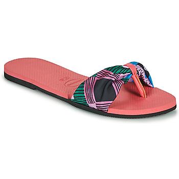 Shoes Women Flip flops Havaianas YOU SAINT TROPEZ Pink