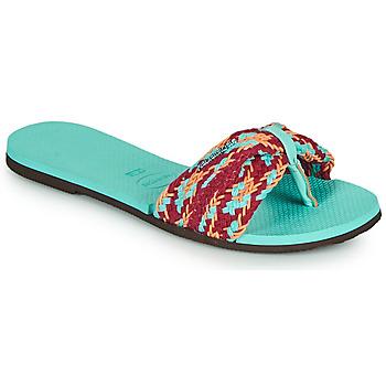 Shoes Women Flip flops Havaianas YOU ST TROPEZ MESH Blue