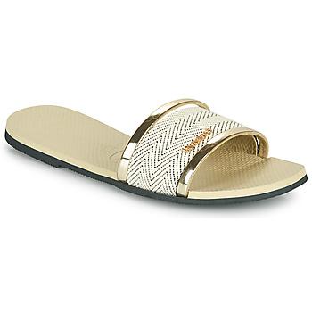 Shoes Women Sandals Havaianas YOU TRANCOSO PREMIUM Beige