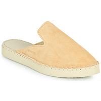 Shoes Women Mules Havaianas ESPADRILLE MULE LOAFTER FLATFORM Beige