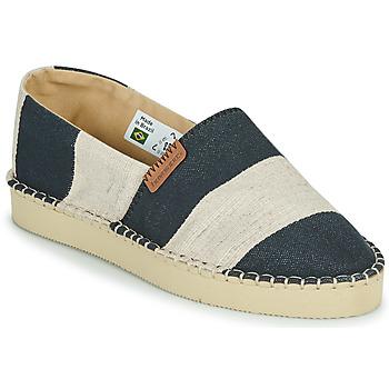 Shoes Women Espadrilles Havaianas ESPADRILLE CLASSIC FLATFORM ECO Black