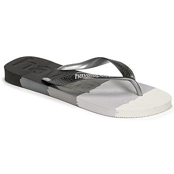 Shoes Flip flops Havaianas TOP LOGOMANIA MULTICOLOR Black