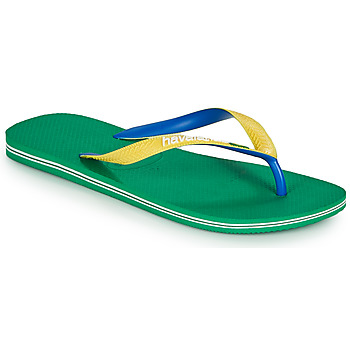 Shoes Men Flip flops Havaianas BRASIL MIX Green