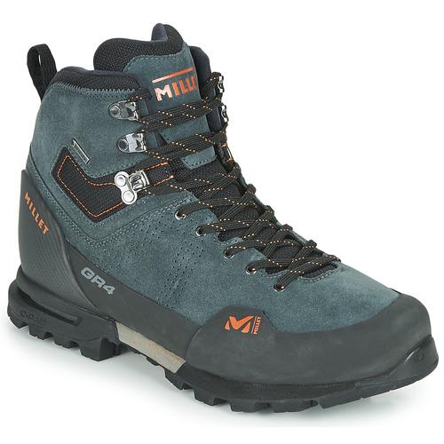 Shoes Men Walking shoes Millet GR4 GORETEX Grey / Orange