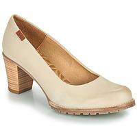Shoes Women Heels MTNG 51078 Beige