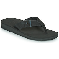 Shoes Men Flip flops Rip Curl P-LOW 2 Black / Grey