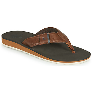 Shoes Men Flip flops Rip Curl P-LOW 2 Brown