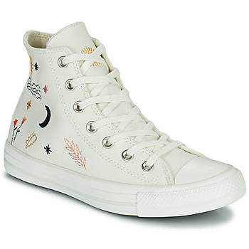 Shoes Women Hi top trainers Converse CHUCK TAYLOR HI White / Multicoloured