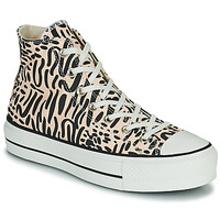 Shoes Women Hi top trainers Converse CHUCK TAYLOR LIFT  black / Beige