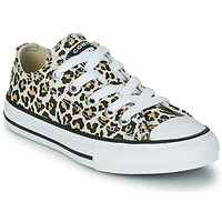 Shoes Girl Low top trainers Converse CHUCK TAYLOR OX Multicolour