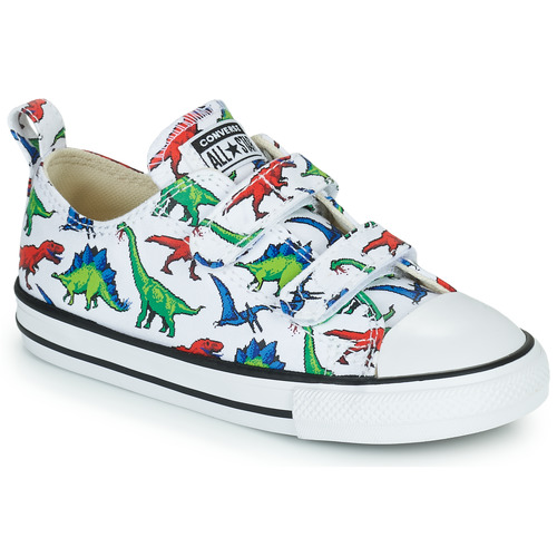 Shoes Boy Low top trainers Converse CHUCK TAYLOR OX Multicoloured