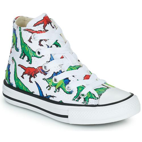 Shoes Boy Hi top trainers Converse CHUCK TAYLOR HI Multicoloured