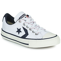 Shoes Children Low top trainers Converse STAR PLAYER OX White /  black