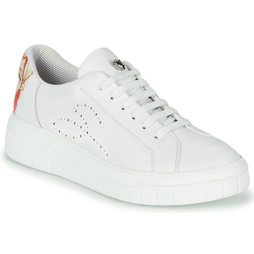 Shoes Women Low top trainers Tosca Blu AMBRA White
