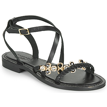 Shoes Women Sandals Tosca Blu PERLA Black