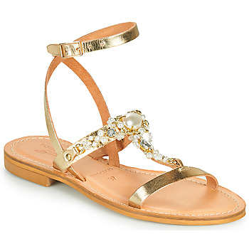 Shoes Women Sandals Tosca Blu PERLA Gold