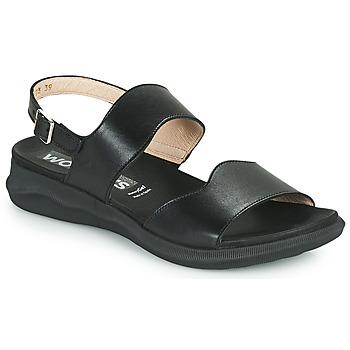 Shoes Women Sandals Wonders PER Black