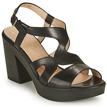 Shoes Women Sandals Wonders PAROTI Black