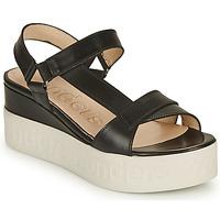 Shoes Women Sandals Wonders PESTEL Black